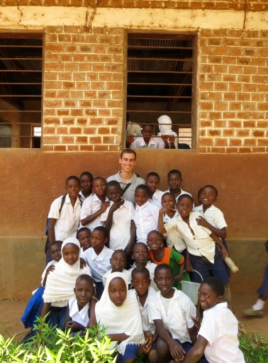 The children loved it when we took photos with them. Photos copyright: David Bartholomew