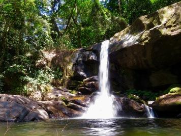 Sanje waterfall level 2. Photo copyright: David Bartholomew
