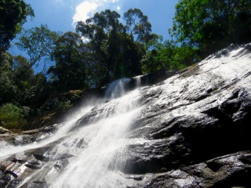 The Udzungwa mountains are littered with waterfalls, including Tanzania's highest waterfall - the Sanje waterfalls, composed of three levels. Level 1. Photo copyright: David Bartholomew