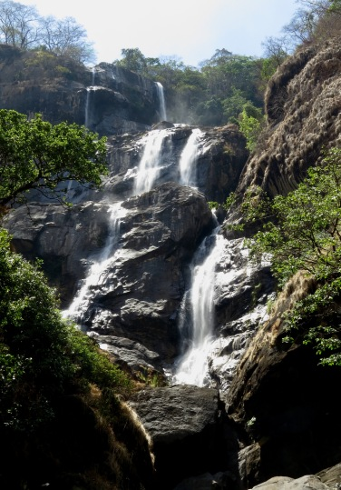 Sanje waterfall level 3 reaches a height of over 800m. Photo copyright: David Bartholomew