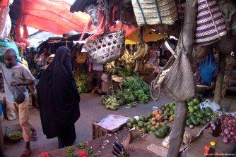 Darajani fruit and spice market, Stone Town, Zanzibar. Photo copyright: David Bartholomew