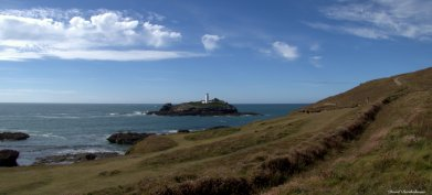 Godrevy lighthouse, Cornwall. Photo copyright: David Bartholomew
