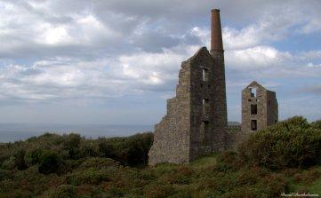Old mining factory, Cornwall. Photo copyright: David Bartholomew