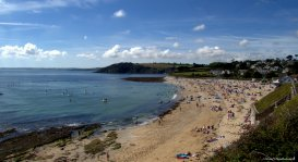 Gyllyngvase beach, Falmouth, Cornwall. Photo copyright: David Bartholomew