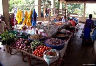 Kichangani market, Tanzania. Photo copyright: David Bartholomew