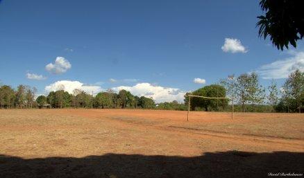 Kichangani school football pitch, Kilombero valley, Tanzania. Photo copyright: David Bartholomew