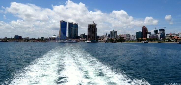 Dar es Salaam port, Tanzania. Photo copyright: David Bartholomew