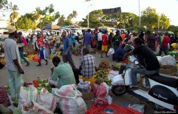 Darajani market, Stone Town, Zanzibar. Photo copyright: David Bartholomew