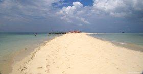 Sandbank, Menai bay, Zanzibar. Photo copyright: David Bartholomew