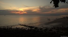 Sunset in Stone town, Zanzibar. Photo copyright: David Bartholomew