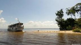 River beach, Baía de Caxiuanã, Para, Brazil. Photo copyright: David Bartholomew