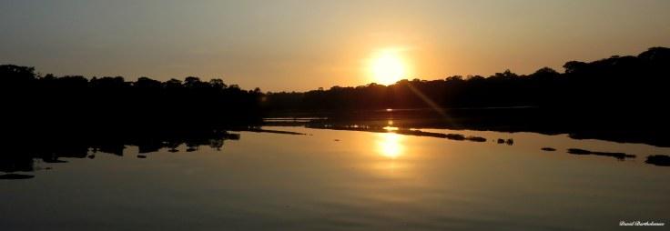 Sunrise over the Amazon, Para, Brazil. Photo copyright: David Bartholomew.