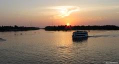Sunset over Breves port. Photo copyright: David Bartholomew