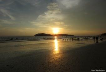 Sunset in Pulau Langkawi, Malaysia. Photo copyright: David Bartholomew