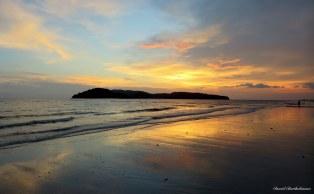 Sunset over Pulau Langkawi, Malaysia. Photo copyright: David Bartholomew